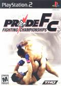 PRIDE FC: Fighting Championships PlayStation 2 Front Cover