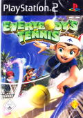 Hot Shots Tennis PlayStation 2 Front Cover