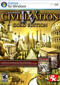Sid Meier's Civilization IV (Gold Edition) Windows Front Cover