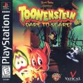 Tiny Toon Adventures: Toonenstein - Dare to Scare! PlayStation Front Cover