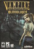 Vampire: The Masquerade - Bloodlines Windows Front Cover