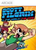 Scott Pilgrim vs. The World: The Game Xbox 360 Front Cover