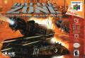 Battlezone: Rise of the Black Dogs Nintendo 64 Front Cover