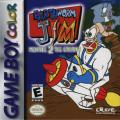 Earthworm Jim: Menace 2 the Galaxy Game Boy Color Front Cover