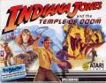 Indiana Jones and the Temple of Doom ZX Spectrum Front Cover
