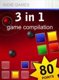 3 in 1: Game Compilation Xbox 360 Front Cover 1st version