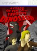Attack of the 50ft Verbose Dinosaur Xbox 360 Front Cover 1st version