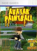 Avatar Paintball Xbox 360 Front Cover 1st version