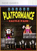 Platformance: Castle Pain Xbox 360 Front Cover 1st version