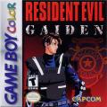 Resident Evil: Gaiden Game Boy Color Front Cover