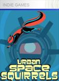 Urban Space Squirrels Xbox 360 Front Cover 1st version