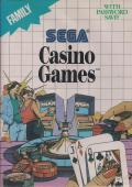 Casino Games SEGA Master System Front Cover