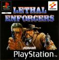 Lethal Enforcers I & II PlayStation Front Cover