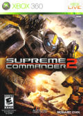Supreme Commander 2 Xbox 360 Front Cover