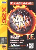NBA Jam Tournament Edition SEGA 32X Front Cover