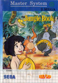 The Jungle Book SEGA Master System Front Cover