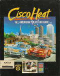 Cisco Heat: All American Police Car Race Amiga Front Cover