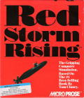 Red Storm Rising DOS Front Cover
