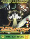 Last Mission ZX Spectrum Front Cover
