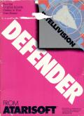 Defender Intellivision Front Cover
