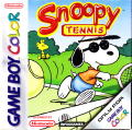 Snoopy Tennis Game Boy Color Front Cover