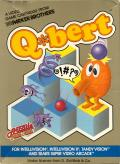 Q*bert Intellivision Front Cover