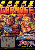 Total Carnage Jaguar Front Cover