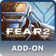 F.E.A.R. 2: Reborn PlayStation 3 Front Cover