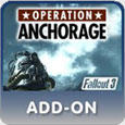 Fallout 3: Operation: Anchorage PlayStation 3 Front Cover PSN Version