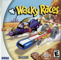 Wacky Races Dreamcast Front Cover Manual - Front