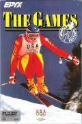 The Games: Winter Edition DOS Front Cover
