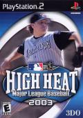 High Heat Major League Baseball 2003 PlayStation 2 Front Cover