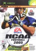 NCAA Football 2005 / Top Spin Xbox Front Cover