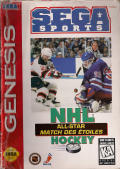 NHL All-Star Hockey '95 Genesis Front Cover