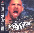 WCW Mayhem PlayStation Front Cover