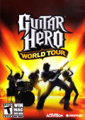 Guitar Hero: World Tour Macintosh Front Cover