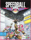 Speedball 2: Brutal Deluxe DOS Front Cover