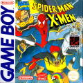 Spider-Man / X-Men: Arcade's Revenge Game Boy Front Cover