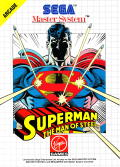 Superman: The Man of Steel SEGA Master System Front Cover