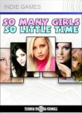 So Many Girls So Little Time Xbox 360 Front Cover 1st version