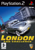 London Cab Challenge PlayStation 2 Front Cover