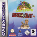 Centipede / Breakout / Warlords Game Boy Advance Front Cover