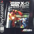 Iron Man / X-O Manowar in Heavy Metal PlayStation Front Cover