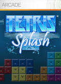 Tetris Splash Xbox 360 Front Cover