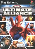 Marvel Ultimate Alliance PlayStation 2 Front Cover