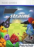 7Strains: The Infectious Xbox 360 Front Cover 1st version