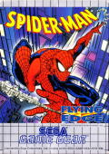 Spider-Man Game Gear Front Cover