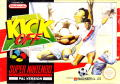 Super Kick Off SNES Front Cover