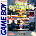 Nigel Mansell's World Championship Racing Game Boy Front Cover