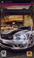 Midnight Club: L.A. Remix PSP Front Cover